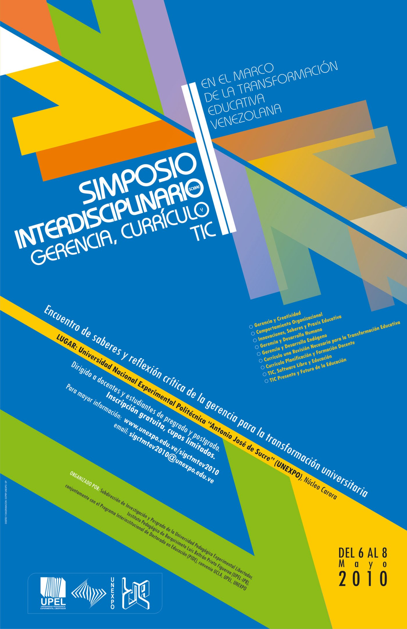 II Simposio Interdisciplinario sobre Gerencia, Currículo y TIC en el ...